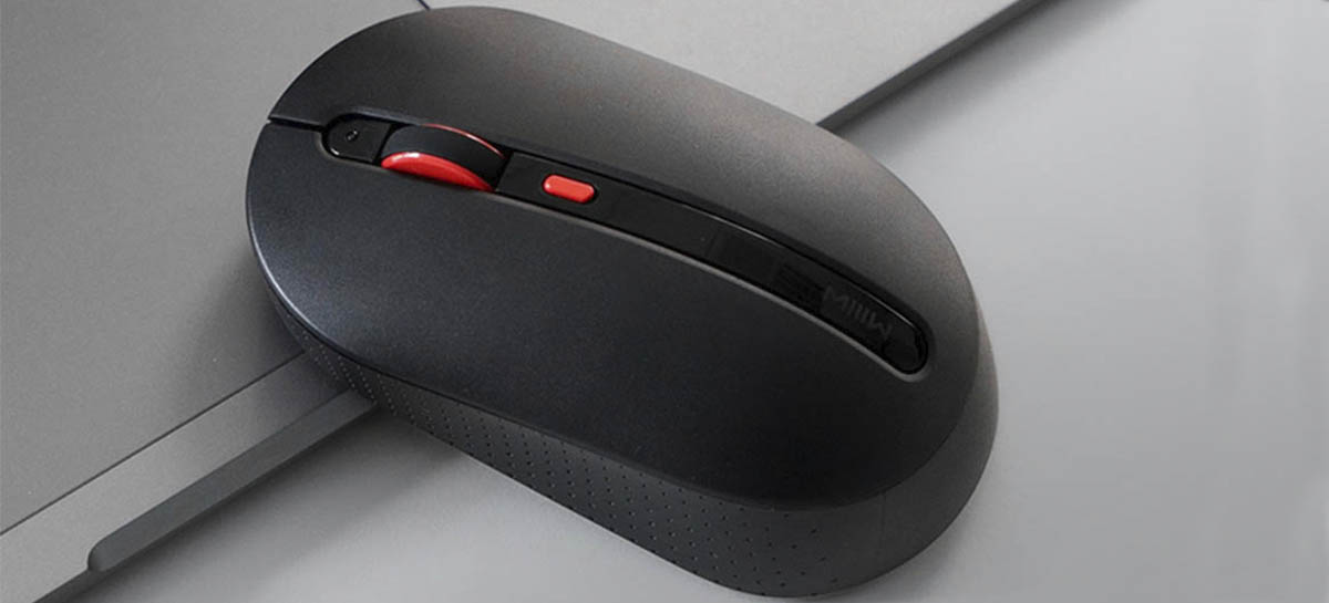 Xiaomi lança MIIIW Wireless Silent Mouse no site de crowdfunding Youpin
