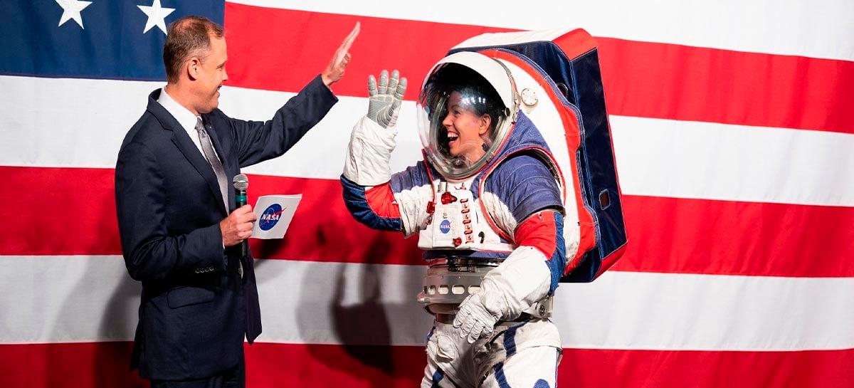 NASA prepara novos trajes para astronautas visando missão na Lua