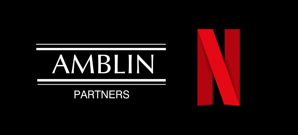 Produtora de Steven Spielberg fecha parceria com Netflix
