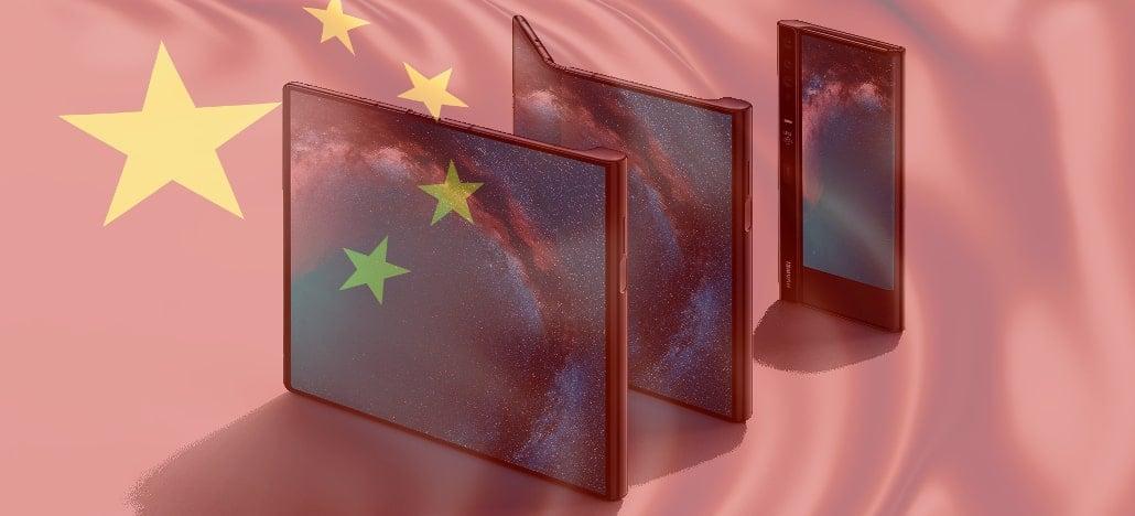 Huawei Mate X, smartphone dobrável da empresa, será lançado somente na China