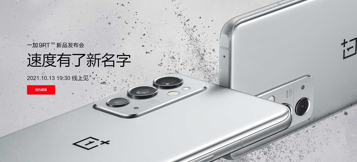 OnePlus 9 RT: especificações do aparelho são confirmadas