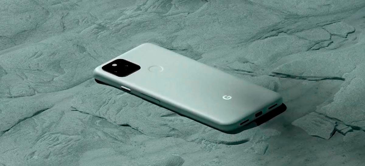 Google Pixel 5 com Snapdragon 765G tem potência reduzida, mas bateria melhor