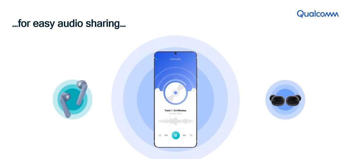 Qualcomm anuncia os SoCs QCC305x para fones de ouvido sem fio