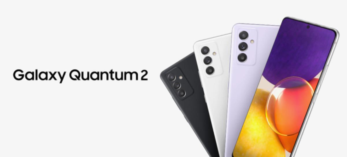 Samsung lança Galaxy Quantum 2 com Snapdragon 855+ e chip para mais segurança