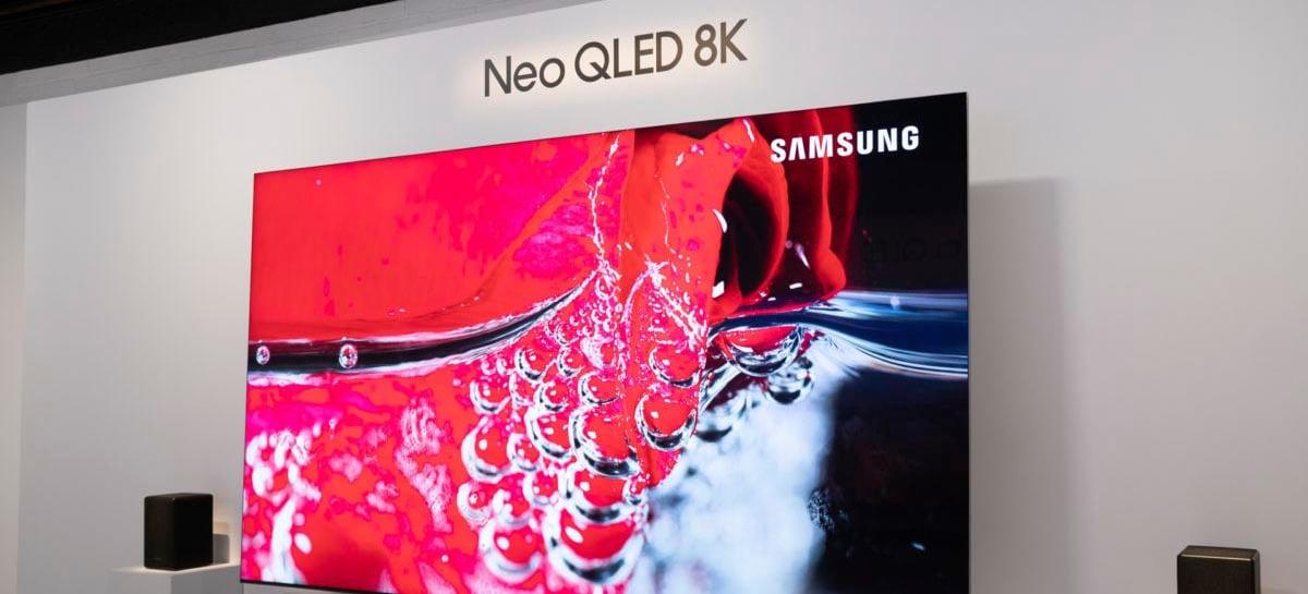 Samsung anuncia linha NEO QLED, com TVs em 4K e 8K e tecnologia Mini-LED