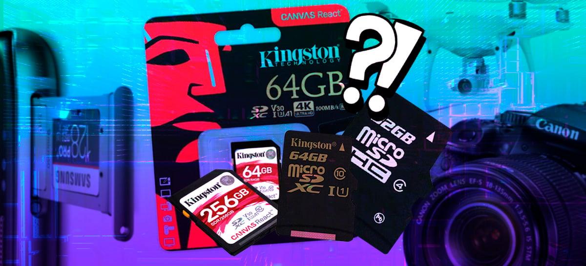 Saiba como comprar cartão SD ou microSD corretamente de acordo com a sua finalidade [+VÍDEO]