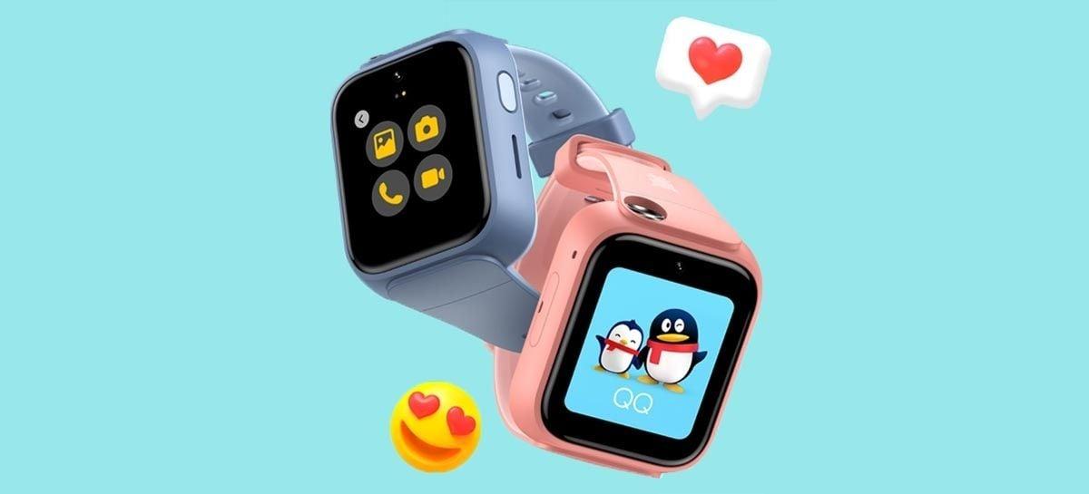 Xiaomi lança smartwatch infantil MITU Watch 5X com duas câmeras