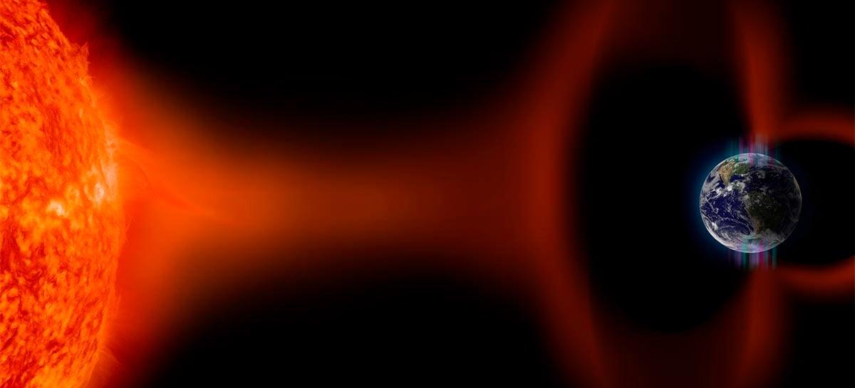 Tempestade solar prevista é mais fraca do que cientistas calcularam
