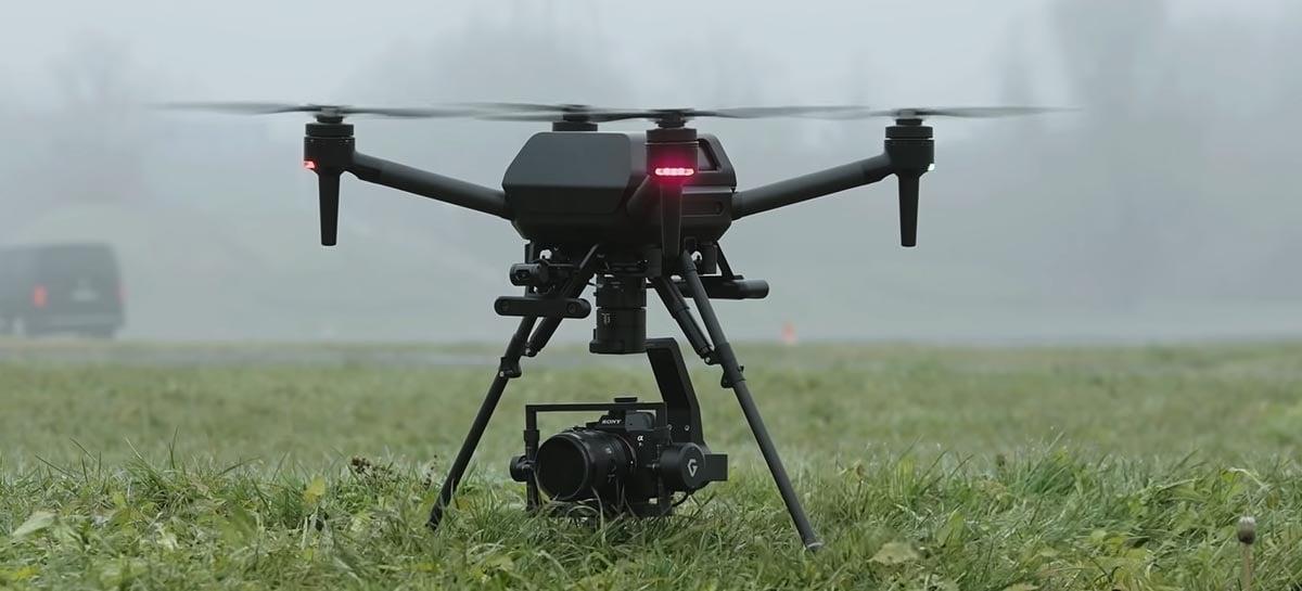Sony anuncia drone profissional Airpeak S1 por 9 mil dólares