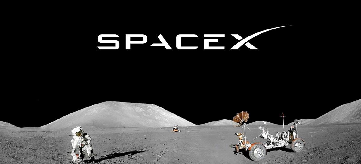 SpaceX fornecerá à NASA equipamento para missão à Lua em 2024