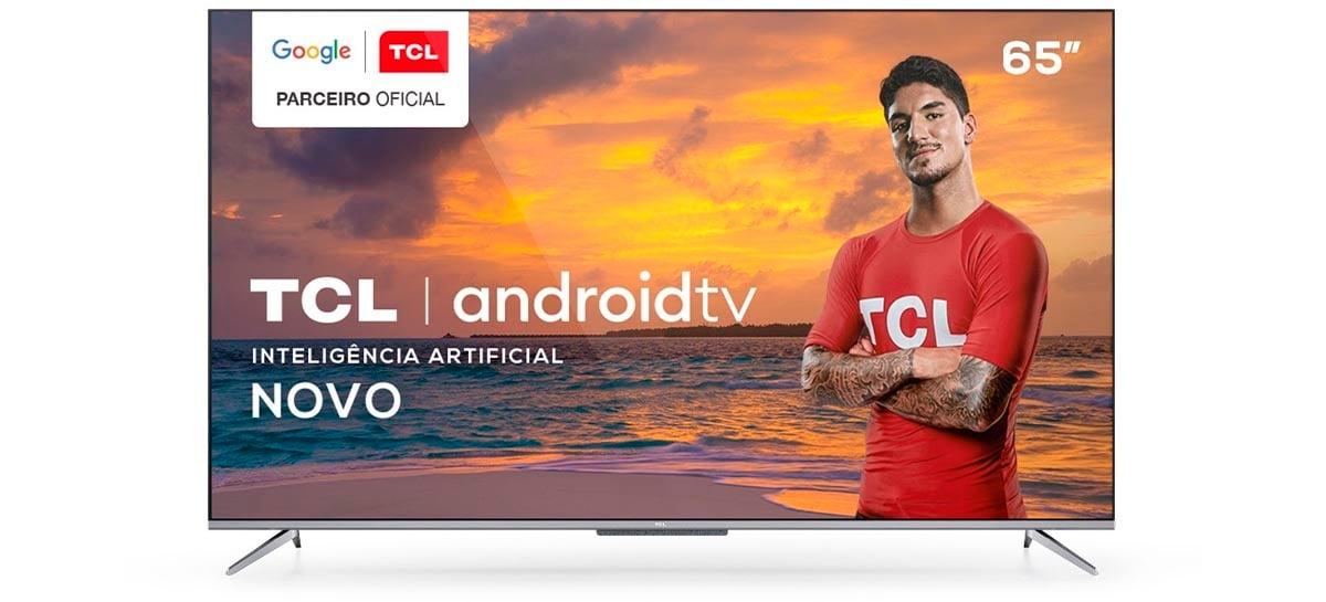 TCL lança Android Tv 4K com controle por voz hands-free