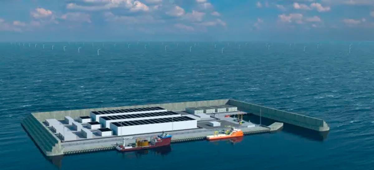 Dinamarca vai construir ilha artificial para produzir energia renovável