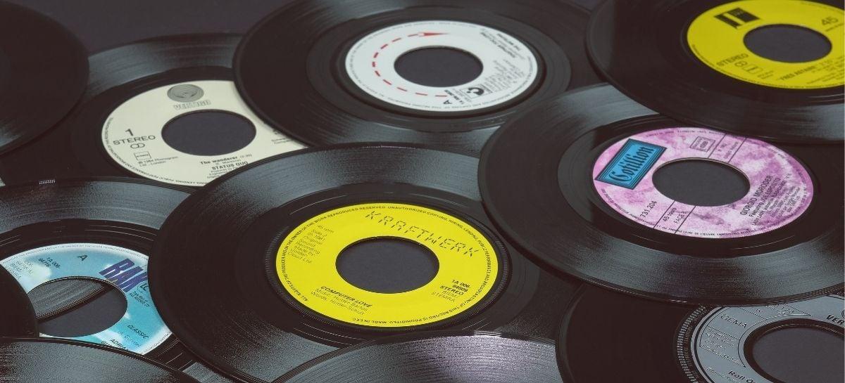 Venda de discos de vinil cresceu 94% no primeiro semestre de 2021