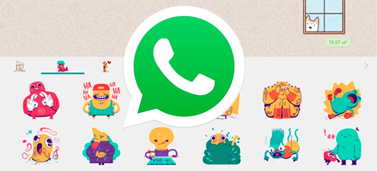 WhatsApp vai permitir pesquisa de figurinhas dentro do aplicativo
