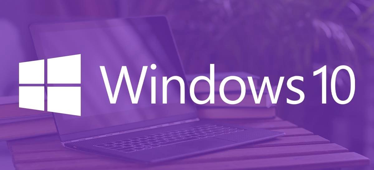 Windows 10 fará atualização forçada da versão 1903 para a 1909