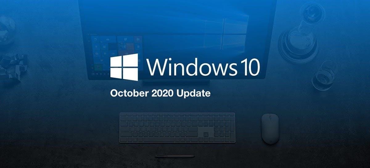 A versão 20H2 do Windows 10 está em 8,8% dos PCs, após recuo da 1909