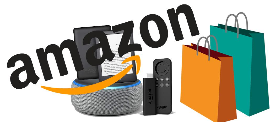 Amazon dá desconto de até R$200 em caixas de som inteligentes, Kindles e Fire TV Stick