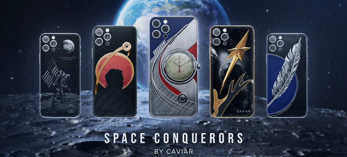 IPhone 12 Pro e iPhone 12 Pro Max ganham novas edições em homenagem a conquistadores espaciais