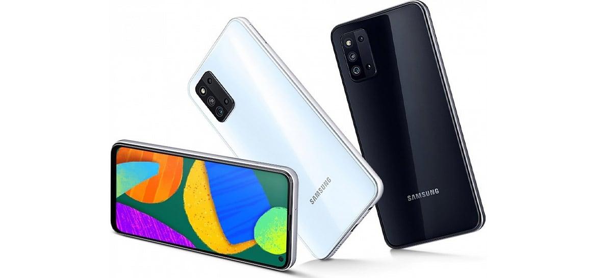 Samsung amplia série F com novo smartphone Galaxy F52 5G