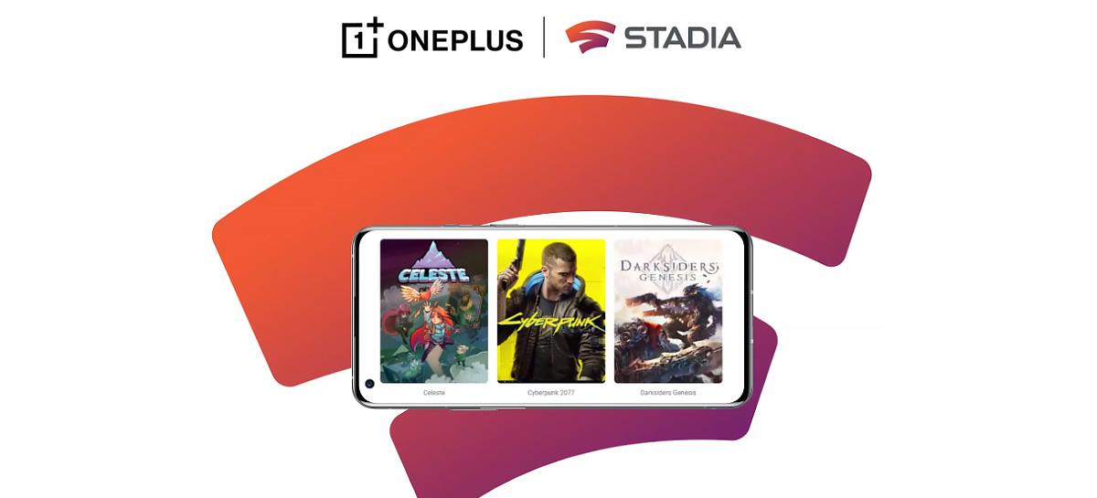 OnePlus oferece Stadia Premiere Edition gratuitamente na compra de smartphones da fabricante