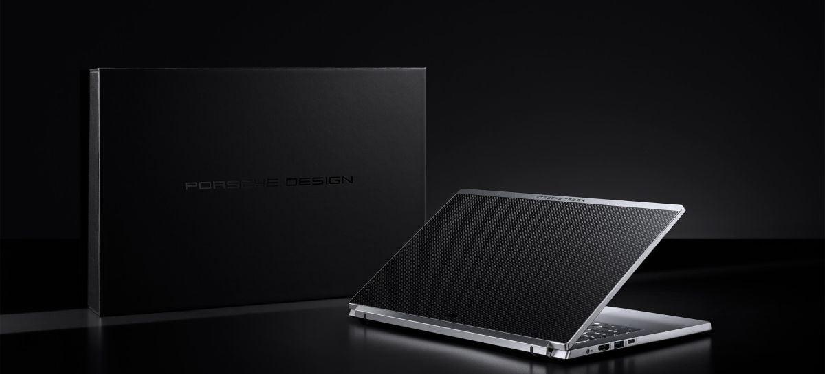 Acer anuncia lançamento do notebook Porsche Design Acer Book RS no Brasil