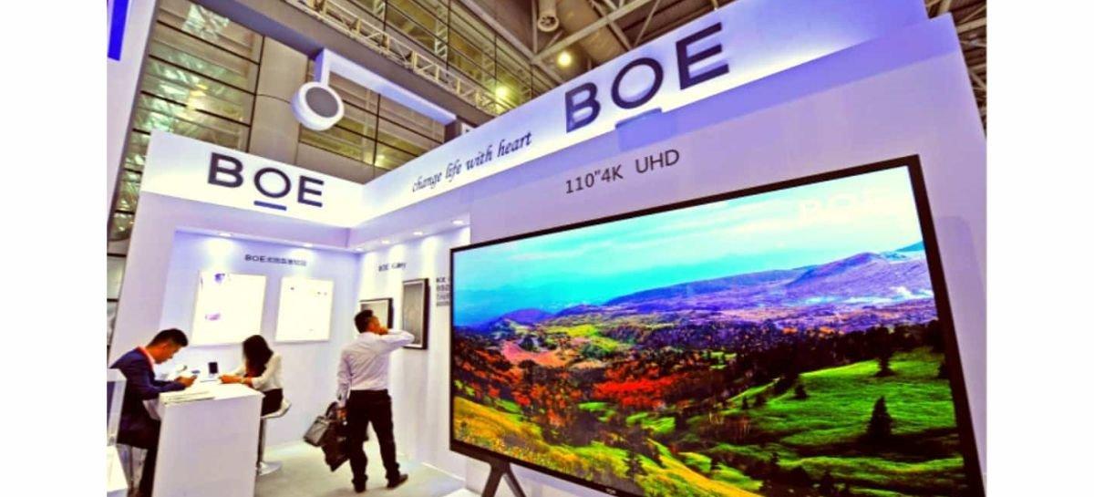 Fabricante chinesa BOE está trabalhando em um display 4K de 27 polegadas com mini-LED