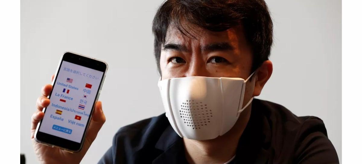 Empresa japonesa desenvolve máscara