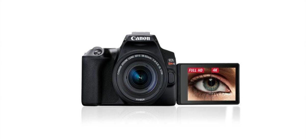 Canon lança no Brasil a EOS Rebel SL3, sua primeira câmera 4K de entrada