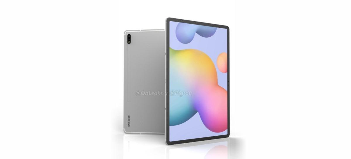 Galaxy Tab S7 Plus pode ter tela de 12,4 polegadas, segundo vazamento [Rumor]