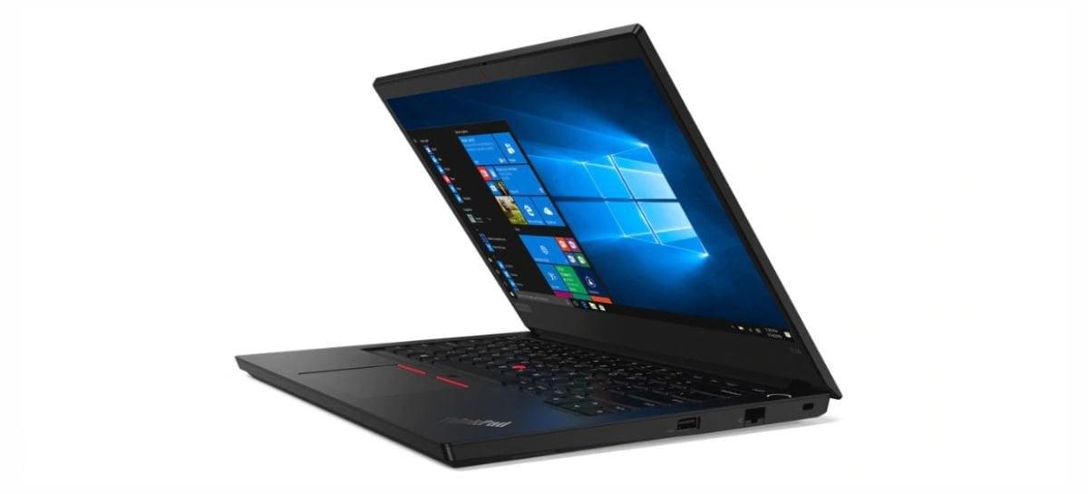 Lenovo lança no Brasil o ThinkPad E14, notebook voltado para o mundo corporativo