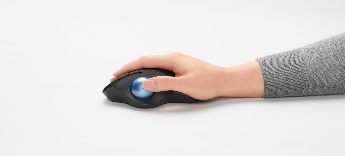 Logitech lança no Brasil o mouse ERGO M575 Trackball