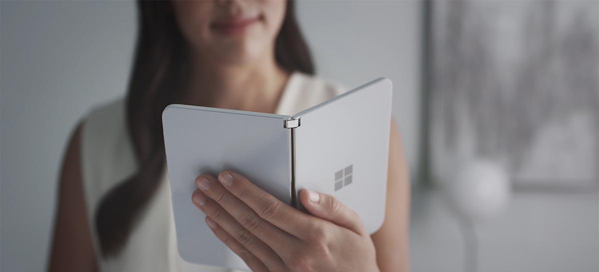 Surface Duo: smartphone Android da Microsoft chega dia 10 de setembro