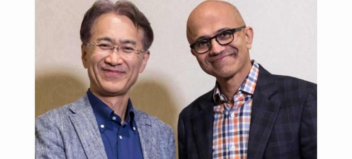 Sony e Microsoft selam acordo para criar soluções de câmeras inteligentes