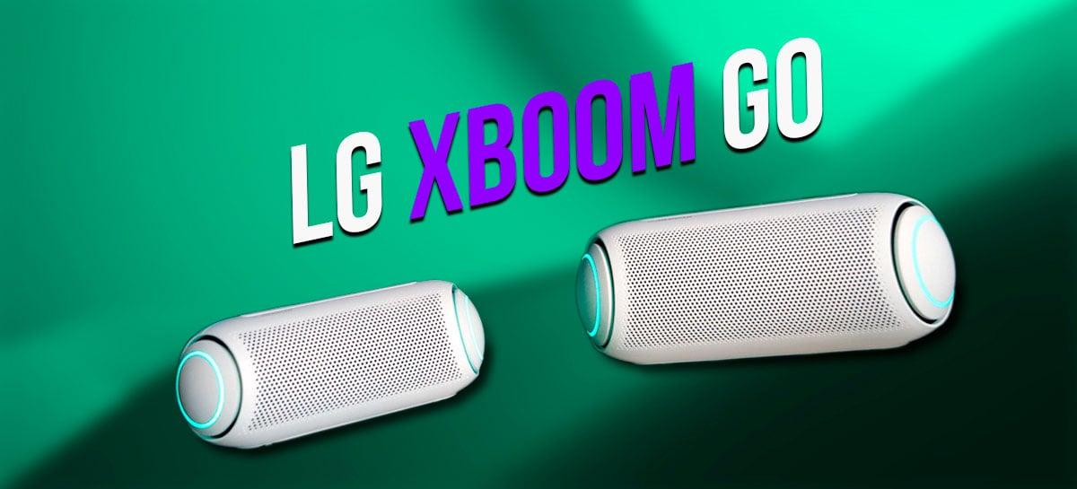 LG XBOOM Go PL5 e PL7: caixas entregam qualidade de som, resistência a água e surround para TV