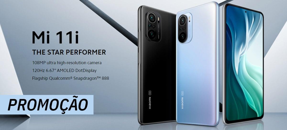 Xiaomi Mi 11i 5G com Snapdragon 888 está em PROMOÇÃO com o MELHOR preço do mercado