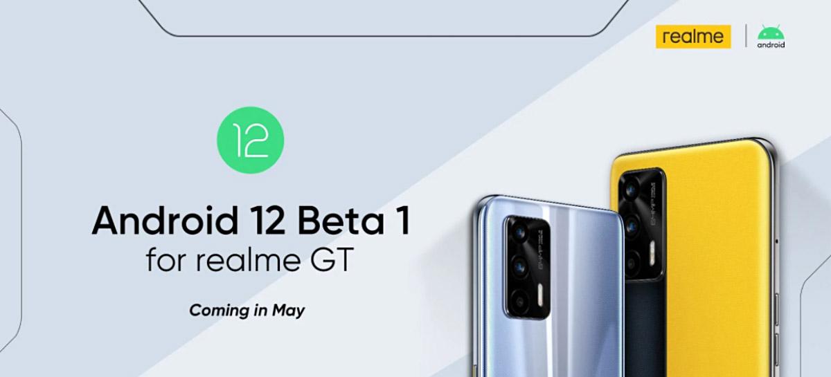 Versão Beta do Android 12 estará disponível no Realme GT ainda neste mês