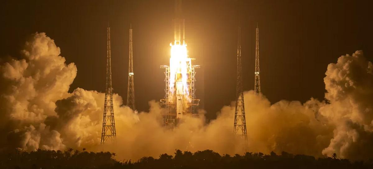 Sonda chinesa Chang'e-5 pousa  na Lua com sucesso para recolhimento de amostras