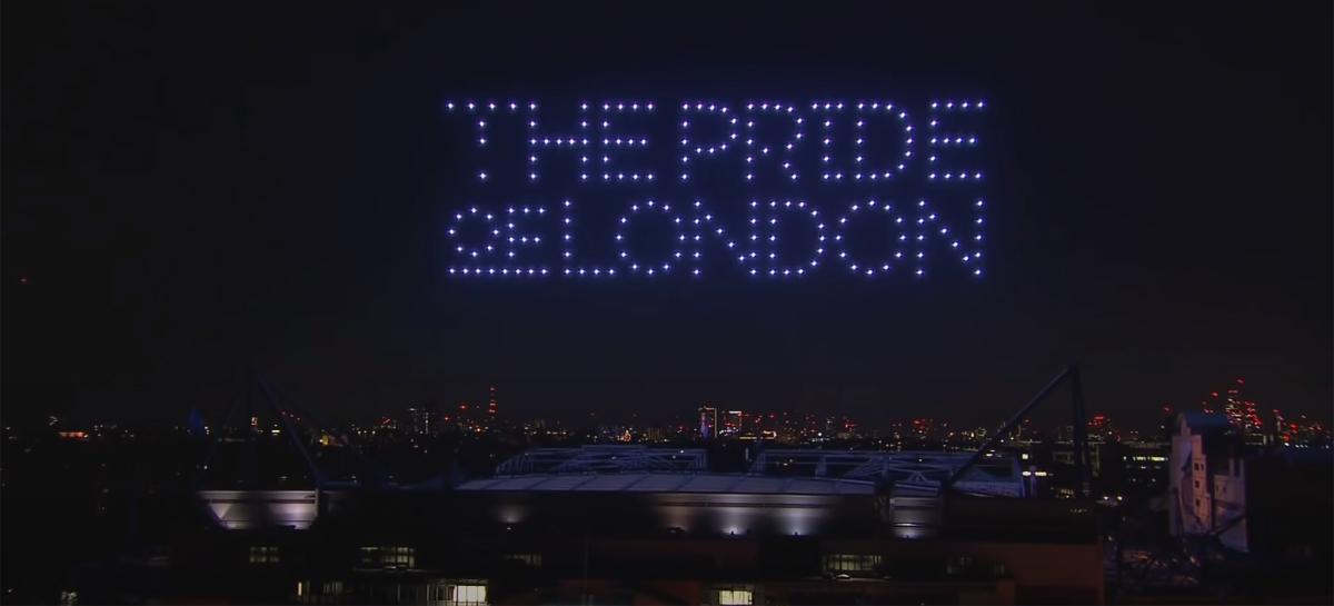 Chelsea celebra conquista da Liga dos Campeões com show de drones