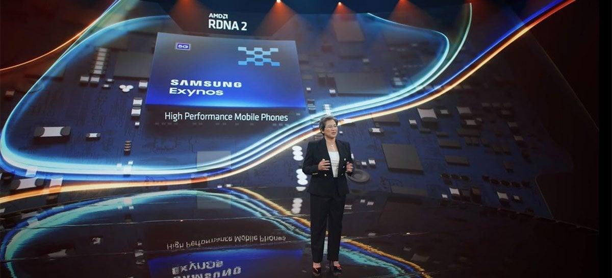 Exynos com GPU da AMD vaza em teste com performance superior a qualquer smartphone do mercado