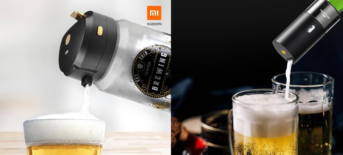 Espumador de cerveja da Xiaomi agora está disponível no Brasil