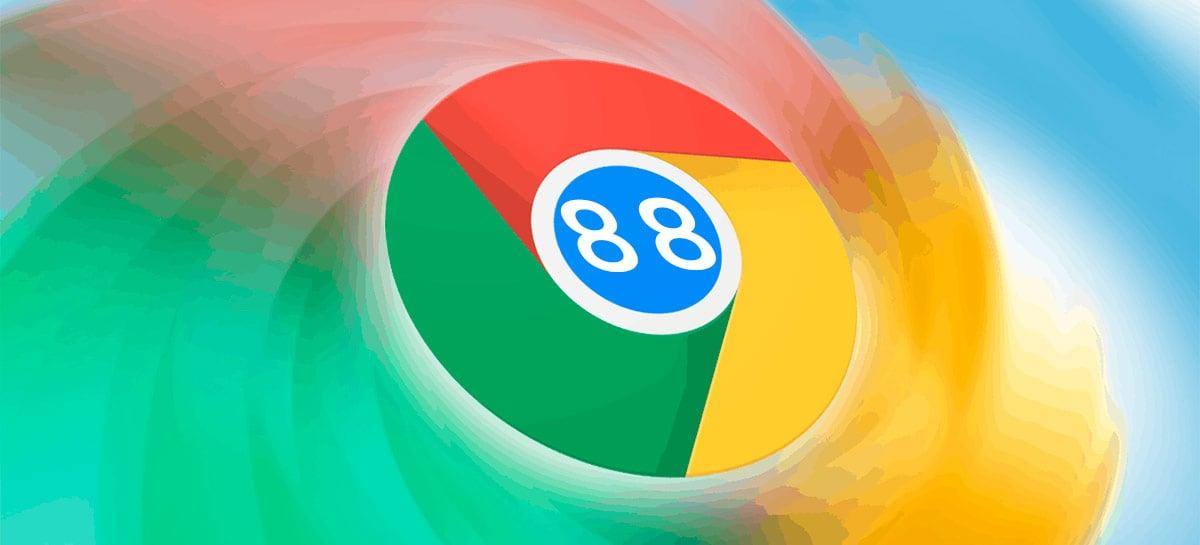 Chrome 88 já está disponível trazendo buscas por abas e melhorias no tema escuro