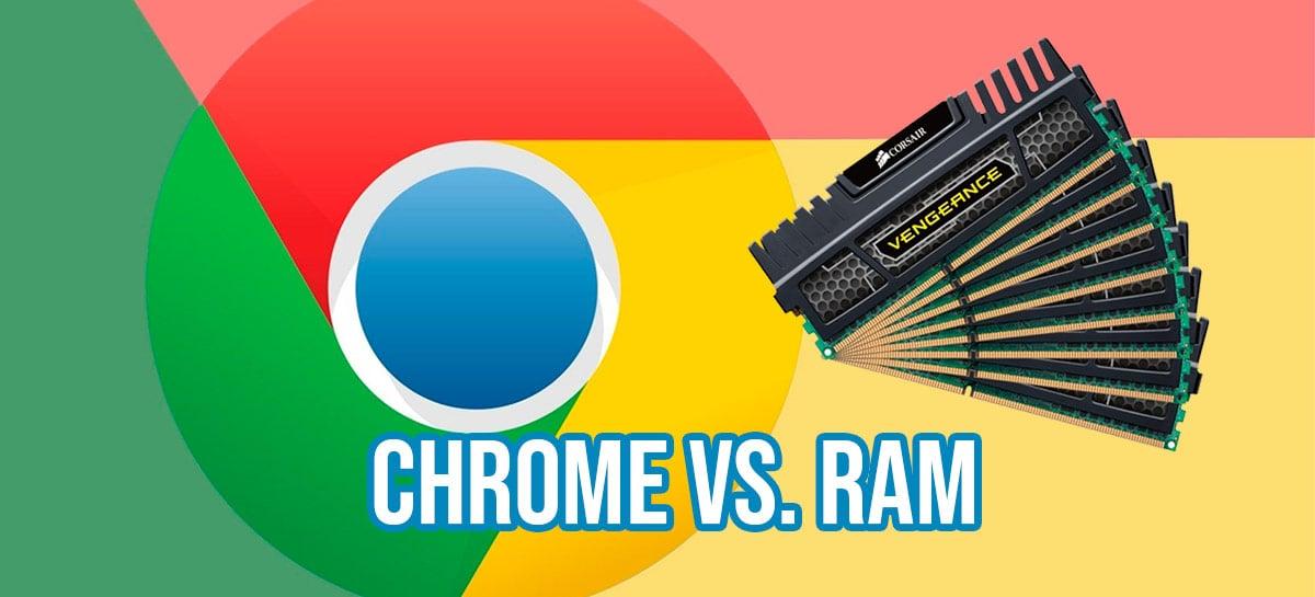 CHROME vs MEMÓRIA RAM - O uso da memória pelo Chrome e o que fazer pra melhorar!