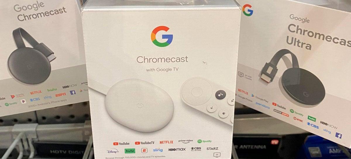 Novo Google Chromecast começa a ser vendido antes da hora; veja preço e especificações