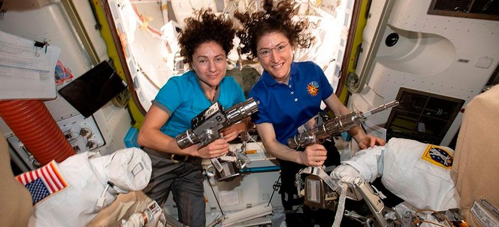 Nasa anuncia a primeira caminhada espacial com tripulação exclusivamente feminina