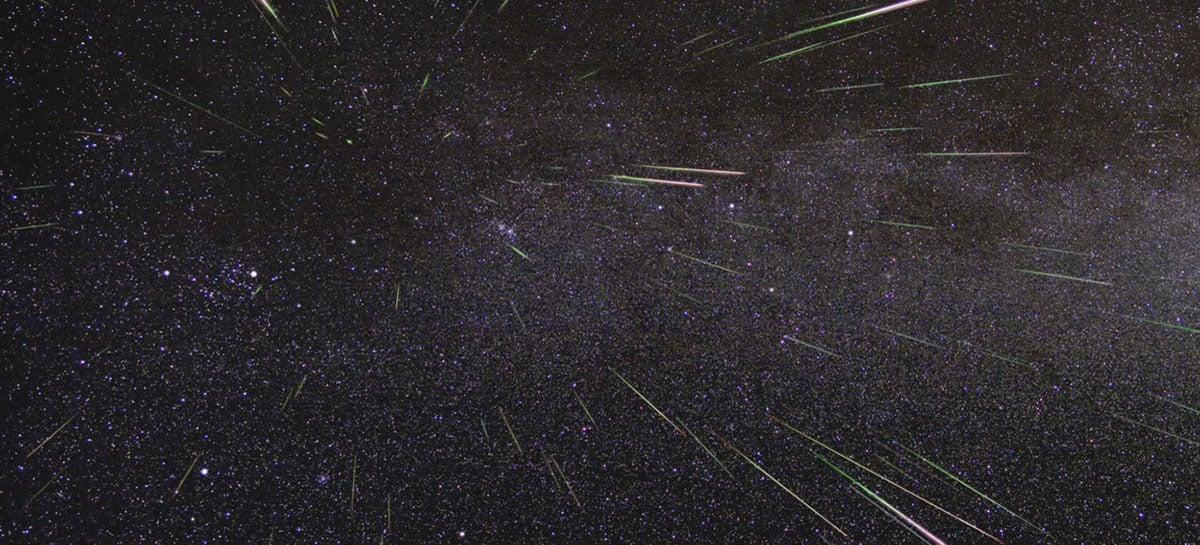 Chuva de meteoros Líridas estará visível nesta madrugada nos céus de toda a Terra