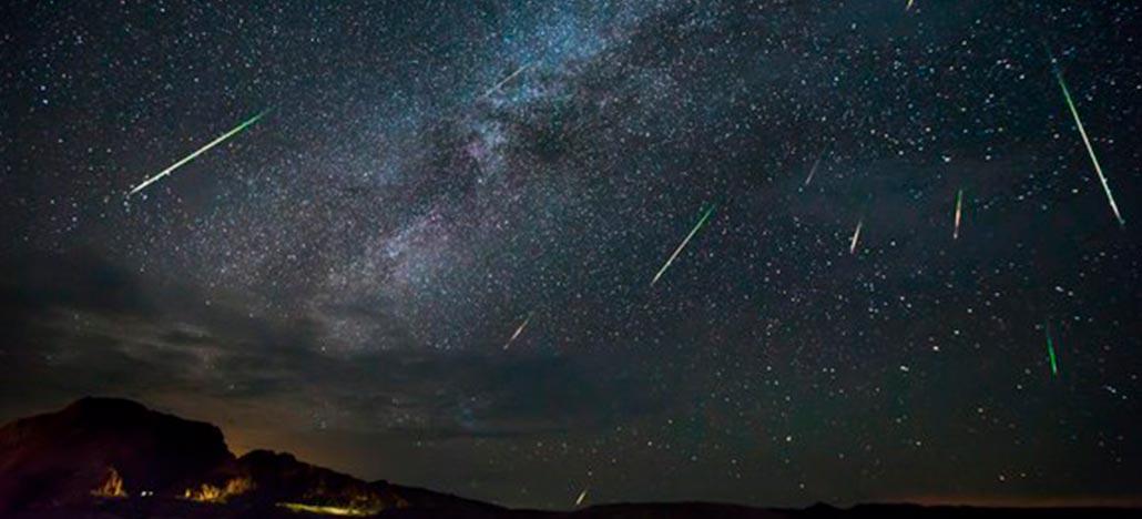 Chuva de meteoros poderá ser vista hoje de madrugada de todo o Brasil