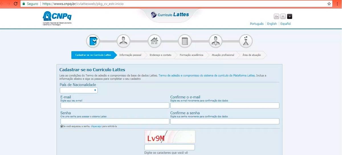 CNPq informa que não há perda de dados da plataforma Lattes