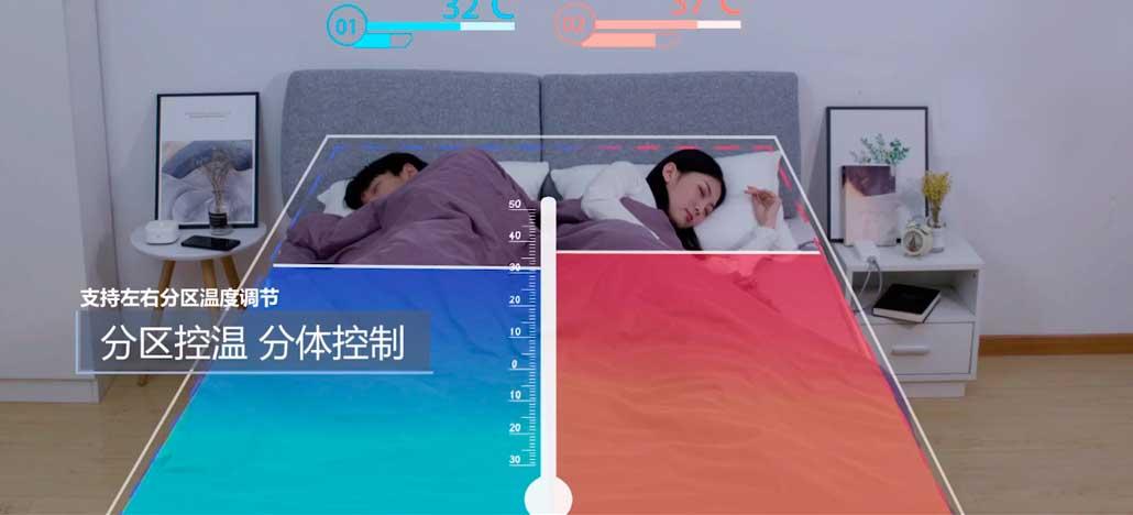 Xiaomi lança cobertor elétrico com funcionalidades inteligentes