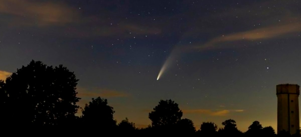 Passagem do cometa Neowise é registrada por brasileiros - Veja fotos