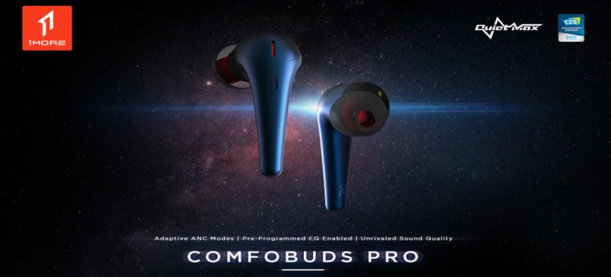 Fone de ouvido Comfobuds PRO premiado na CES está em promoção por US$67